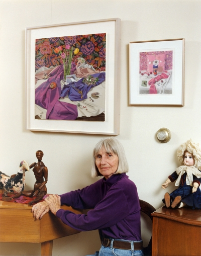 Portrait of Carol Rosenak in 1998 by Donna Granata from Focus On The Masters Portrait Series