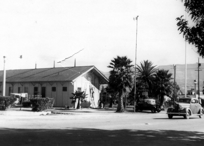 The Depot in 1943.
