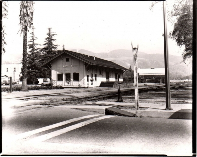 The Depot in 1960.