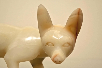 Fox Sculpture Detail Photo by Myrna Cambianica.