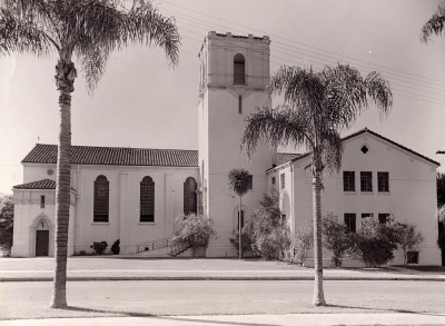 Presbyterian Church on Central circa 1935.