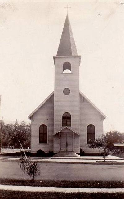 Catholic Church circa 1925.