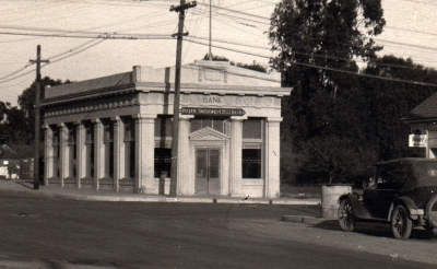 Pacific Southwest Trust and Savings about 1923 when Stephens was vice president of the bank.