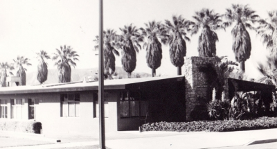 McNab Building 1968 on Sespe. This was the location of the headquarters of Sespe Land and Water Company.