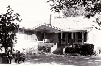 McNab house on First Street and Saratoga. It was originally built on Catalina Island and moved to its current location.