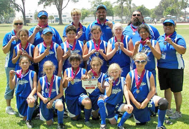 Fillmore Girls Softball 10&Under All-Star team placed 3rd in the District Tournament this weekend