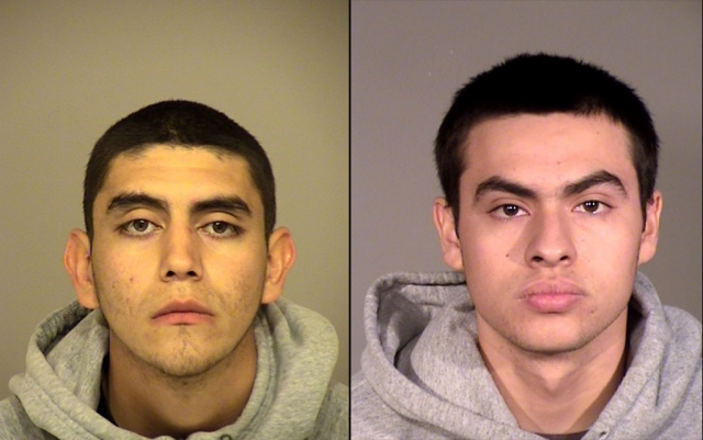 (l-r) Anthony Tapia, 18 of Fillmore and Roman Rodriguez-Landeros, 19 of Newbury Park.