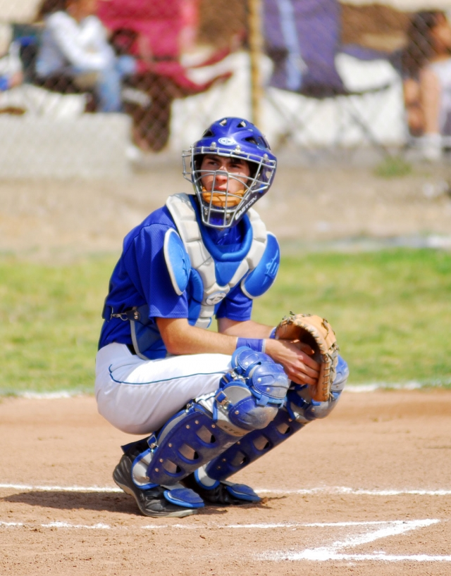 Michael Watson, catcher for the Flashes, played a great game against Santa Paula. Fillmore lost 2-1.
