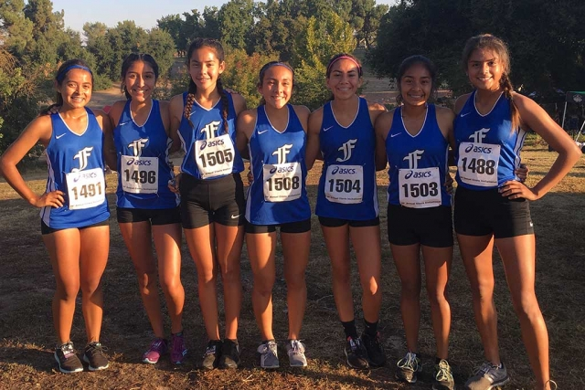 Pictured are some Lady Flashes that competed this past week (l-r): Cecilia Cisneros, Nicole Gonzalez, Giselle Perez, Carissa Rodriguez, Diana Perez, Anahi Pascual, and Vanessa Avila.