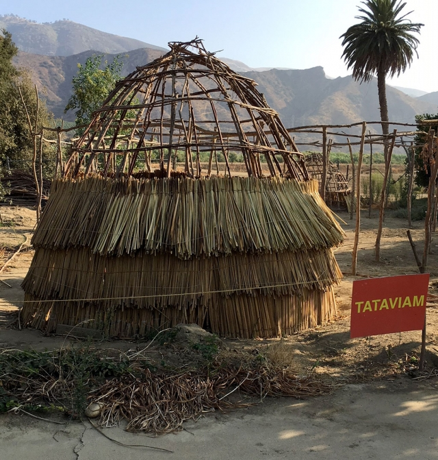 Rancho Camulos Museum is excited about the authentic Tataviam Village being built on their site. The village will show another aspect of our early California history. Photo courtesy Martha Richardson.