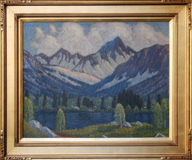 Sierra #1, oil on canvas, Ernest Browning Smith