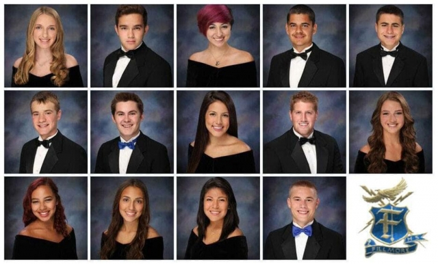 Pictured above are previous winners FHS Alumni has helped in the past.