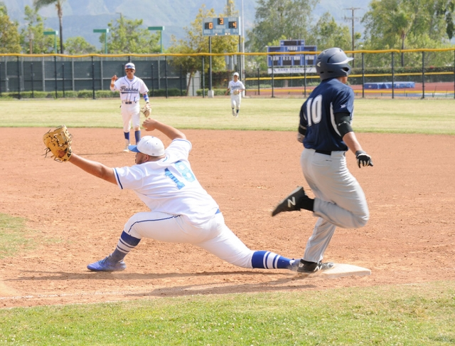 Tuesday, May 22nd Fillmore Flashes baseball hosted St. Genevieve for the first round of CIF Division 7 playoffs. Fillmore