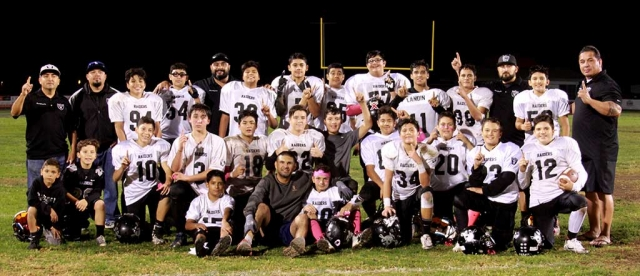 Fillmore Raiders Seniors Team who made the playoffs this year.