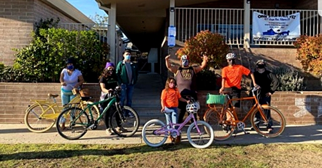On Friday, March 5th at 3pm the first One Step Bike Club ride took place! This new program is to promote the positive aspects of biking, such as a healthy lifestyle and environment awareness. They had a blast listening to oldies and riding around Fillmore. Thank you to all the youth who joined and everyone who helped during the ride! We are DEFINITELY doing this again! Reach out if you are interested in joining our next ride! For more information please contact Brisa Romero at (805) 625-1189 or email brisa@myonestep.org. Courtesy One Step A La Vez Facebook page.