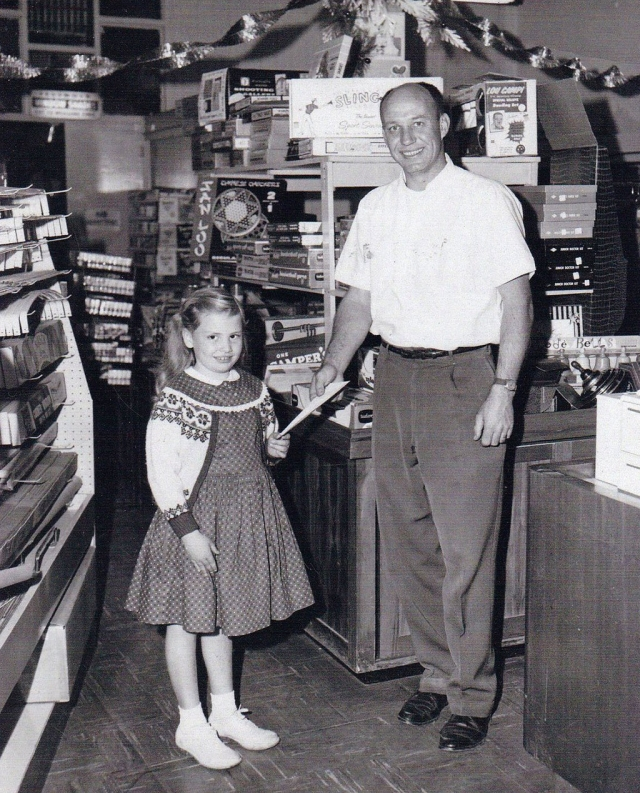 1960 Stockers Department Store Bill Stocker and Susan French. Photos courtesy Fillmore Historical Museum.