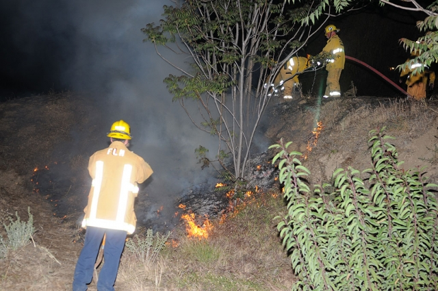 The Fillmore Fire Department responded to a flare-up of the Goodenough incident above Teitsort Dr. Wednesday of last week.