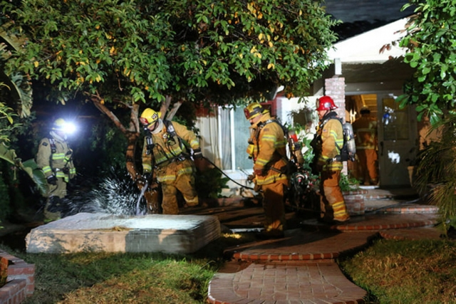 Fillmore Fire responded to a structure fire on Sunday, May 3 at 8:15pm, in the 700 block of Del Valle. An upstairs mattress had ignited and a separate fire was burning in the backyard. It is not known if the two were