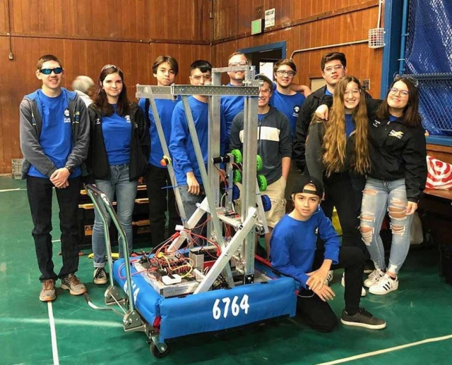 "On Saturday, February 17th the Fillmore High robotics team ""Flash Drive"" competed against Valencia High School."
