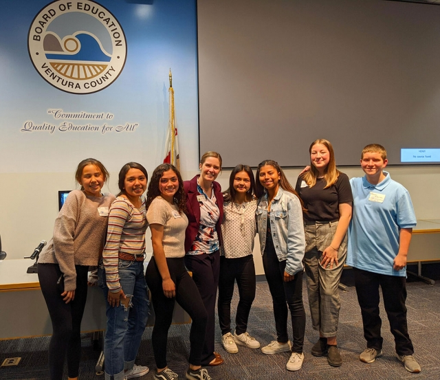 Congratulations to our Fillmore Middle School History Day Competition entrants, all of whom placed in the county competition, and are eligible to move on to the state competition in May. Great work Bulldogs! Courtesy Fillmore Middle School blog.