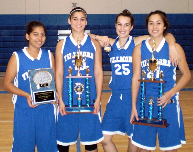 Pictured L-R: Mariah Rivas, Aimee Orozco, Jillian Wilber, and Rebeca Herrera.