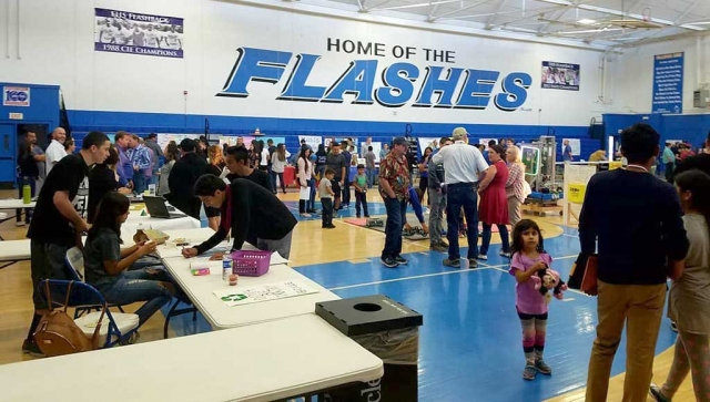 Thursday, April 26th Fillmore High School hosted Open House and 8th Grade Parent Orientation. Parents and students met and were able to speak with teachers as well as learn about all the clubs that FHS has to offer the students.