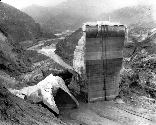 St. Francis Dam photo submitted by Ari Larson.
