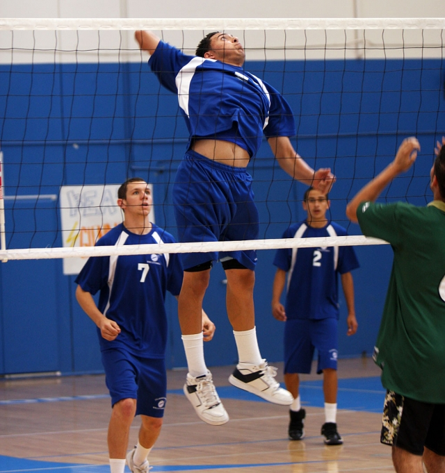 Chris De La Paz had a great game Friday night. De La Paz had 18 kills.