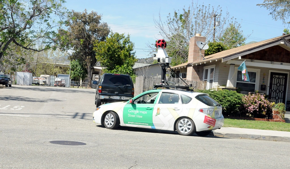 Spotted: Google Maps Street View Vehicle | The Fillmore Gazette on google moon, satellite view of property, see my house street view, yahoo! maps, route planning software, china street view, web mapping, satellite view street address, satellite map images with missing or unclear data, google earth satellite view, mapquest street view, google street view, city street view, google map maker, google sky, nokia maps, russia street view, neighborhood street view, msn maps street view, google mars, find my house street view, virtual earth street view, satellite maps of my house, satellite maps real-time property, view your house street view, google latitude, street level driving view, google earth, google voice, google search, bing maps, google home view, bing maps platform, live maps street view, india street view,
