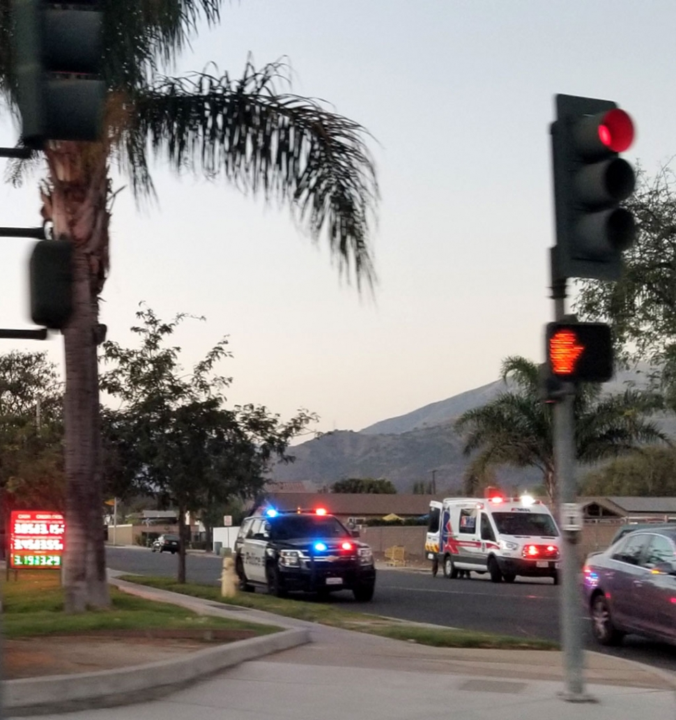 On Sunday, September 20th at 6:25pm Fillmore Police Department and an AMR Emergency vehicle responded quickly to a medical emergency on Ventura & B Street near the 7-Eleven Gas Station.
