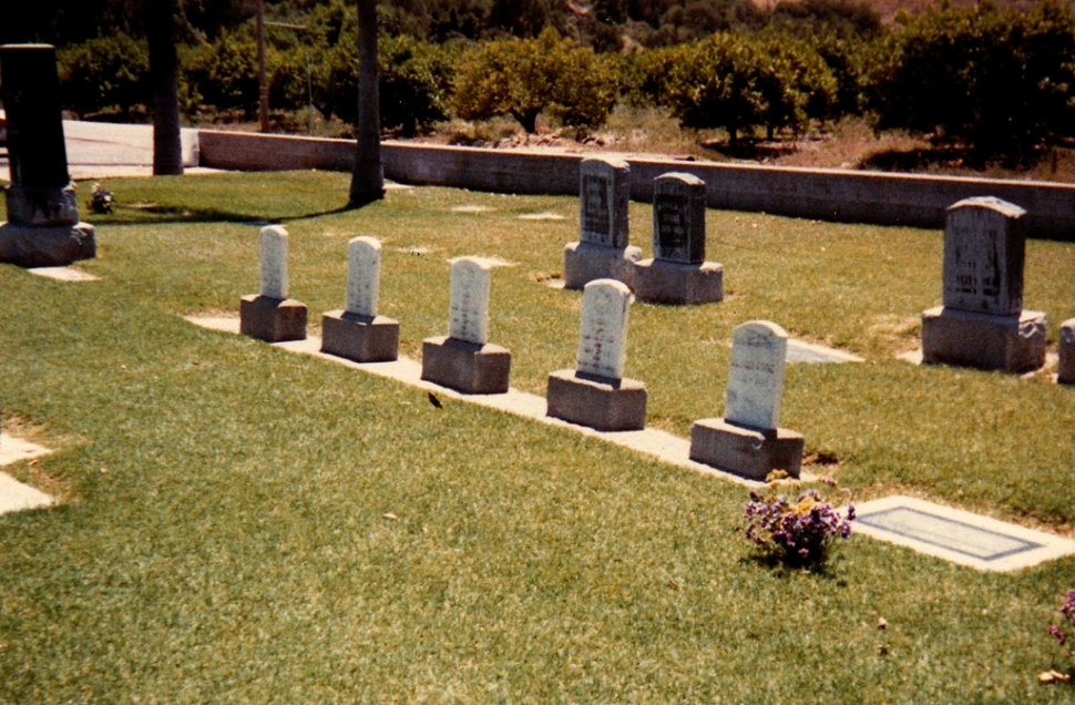 Stone Children's Graves in Bardsdale.